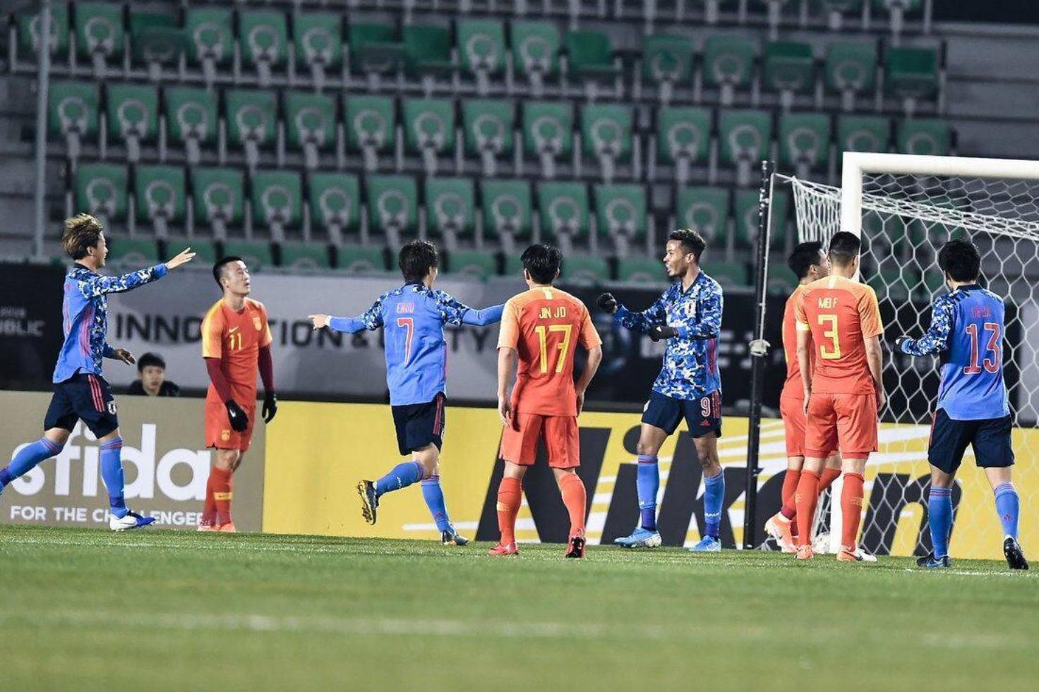 4平4负!国足东亚杯近16年未胜日本-今球app官网