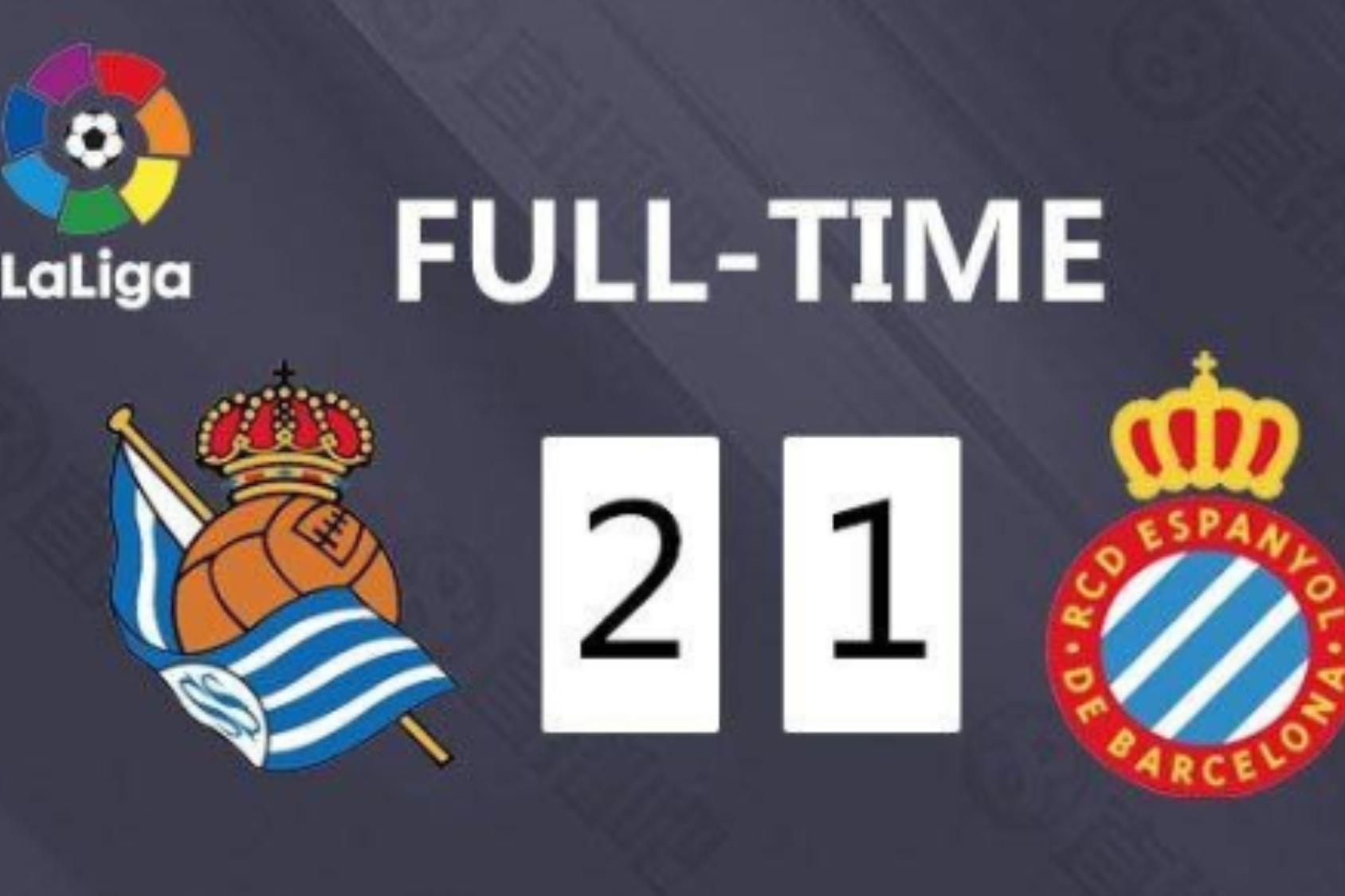 武磊替补出战30分钟, 西班牙人1-2遭皇社逆转联赛4连败-今球app官网