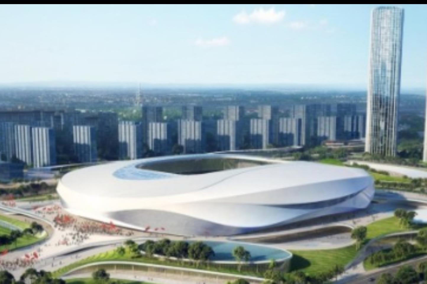 可同时容纳5万人观赛,2023年亚洲杯青岛青春足球场开工-今球app官网