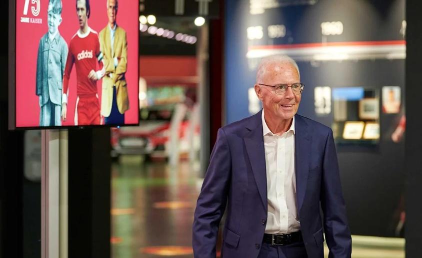拜仁慕尼黑为贝肯鲍尔举办凯撒特别展览,庆祝75岁生日-今球app官网