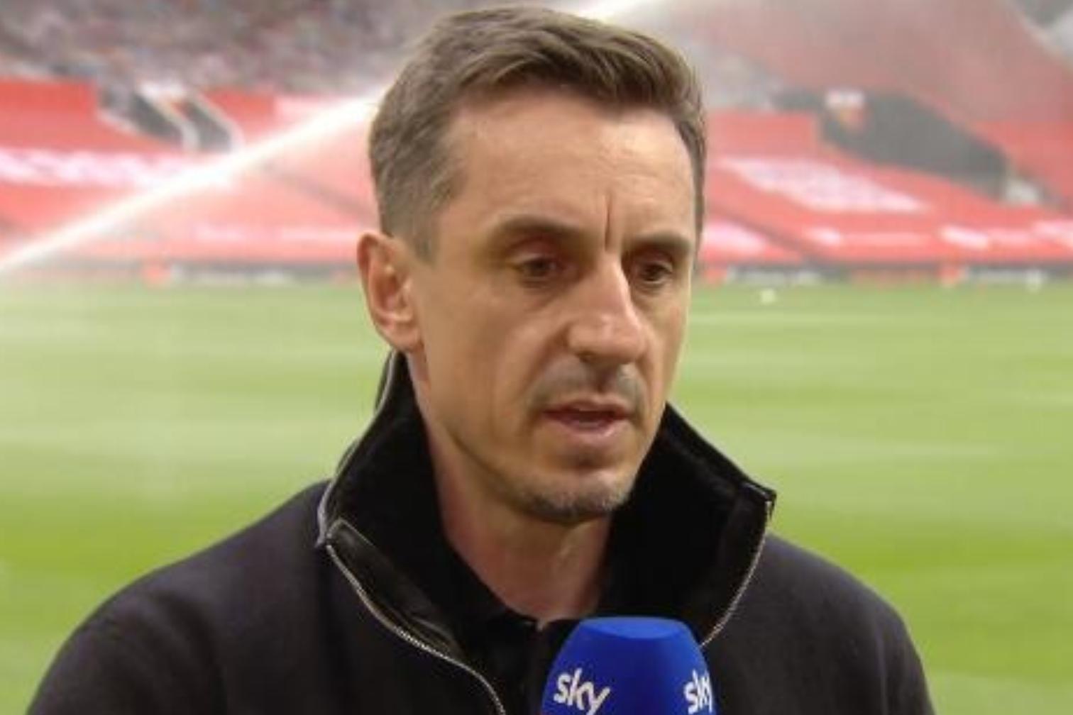 内维尔:现在组件欧洲超级联赛不就是给足球界添新伤口吗?-今球app官网