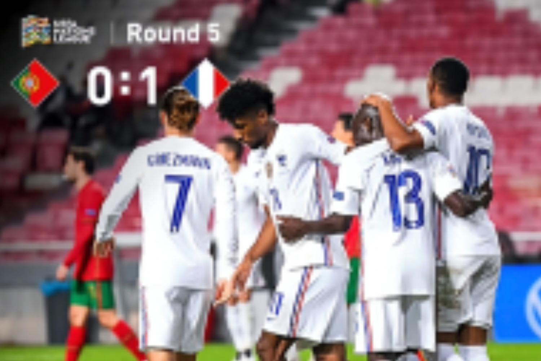 坎特破门马夏尔失单刀+中框, 法国1-0客胜葡萄牙-今球app官网