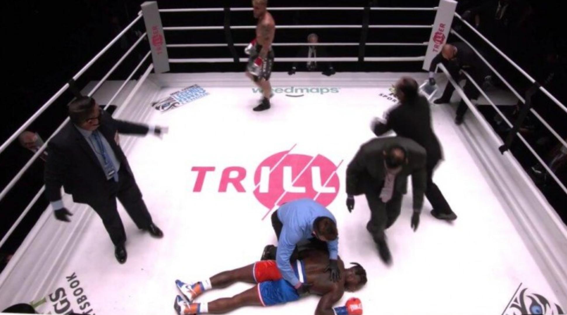 术业有专攻!内特-罗宾逊拳击赛首秀被对手直接KO-今球app官网