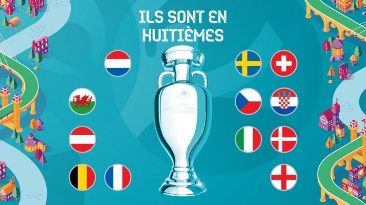 欧洲杯16强已确定12席,剩余8队争夺最后4个席位-今球app官网