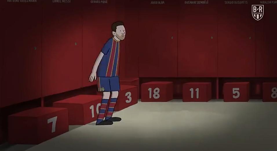 泪目!超感人短片回顾梅西21年巴萨生涯-今球app官网